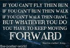 Martin luther king inspirational motivational quote photo poster home art