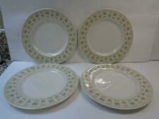 "Royal Doulton Tc1039 Samarra 8"" Luncheon Salad Plate Set 4 English Translucent"