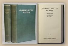 Jahn Adalbert Stifter Studien 1968 2 Bde Erzählungen Dichter Literatur xy