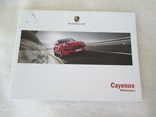 2014 2013 Porsche Cayenne Maintenance Book S Hyb GTS Diesel Turbo Service Manual
