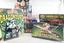 Power Rangers Action Figure Robot Group Lot Zord