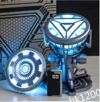 Marvel Iron Man Legend 1:1 Tony Stark ARC Reactor Prop Replica LED Light-Up Toy