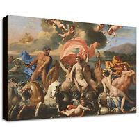 Birth of Venus Canvas Print LARGE WALL ART Nicolas Poussin giclee fine art