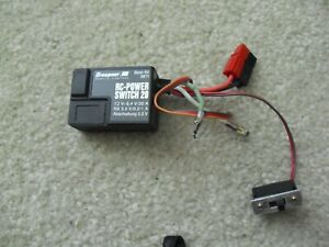 RC Airplane Part Accessory Graupner RC Power Switch 20 3871