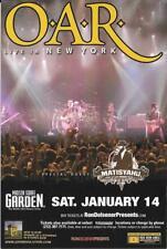 O-A-R Concert Handbill Mini Poster Nyc 2005 Matisyahu Madison Sq Garden #2
