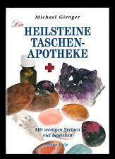 """Buch """"Die Heilsteine Taschenapotheke"""" Michael Gienger Steinkunde Heilkunde Stein"""