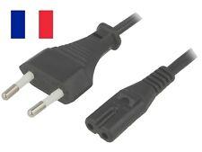Câble d'Alimentation EU C7  Pour Sony PS1 Slim PS2 Slim PS3 Slim PlayStation PS4