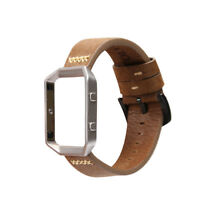 Genuine Leather Watchband Bracelet watch Band Strap For Fitbit Blaze Smart Watch