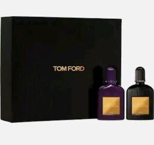 TOM FORD Orchid EDP Set-Black Orchid&Velvet Orchid Eau de Parfum 0.14oz Each-NIB