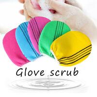 Smooth Skin Cleaner Bath Glove Exfoliating Towel Shower Scrubber Body Rub