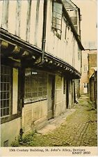 15th Century Building, St. John's Alley, DEVIZES, Wiltshire
