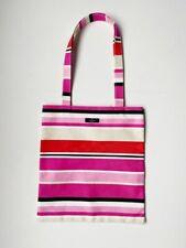 KATE SPADE New York Shopper Canvas Stripe Tote Bag in Cotton