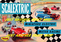 Scalextric 1963 Poster A3 Size Advert Leaflet Sign - very high quality