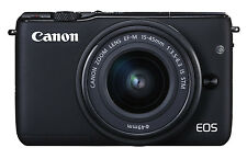 NEW Canon EOS M10 DSLR Camera with 15-45mm IS STM Lens kit - Black