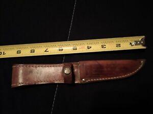 Vintage Case XX Leather Knife Sheath