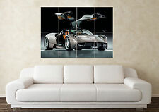 Large Pagani Huayra V8 V10 V12 SuperCar Sports Car Wall Poster Art Picture Print