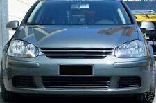 BLACK DEBADGED SPORTS BONNET GRILL FOR VW GOLF MK5 10/2003 - 9/2008