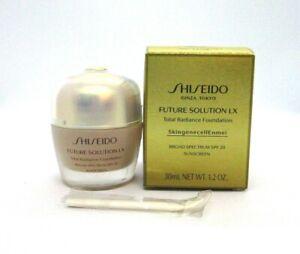 Shiseido Future Solution Lx Total Radiance Foundation ~ Rose 2 ~ 1.2 oz BNIB