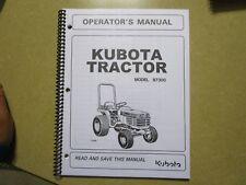 heavy equipment manuals books for kubota backhoe loader ebay rh ebay com kubota bx23 operator's manual kubota bx service manual