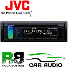JVC KD-R881BT CD MP3 Bluetooth Aux USB iPod iPhone Android Car Stereo Player