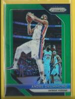 Andre Drummond  2018-19 Prizm PRIZMS GREEN Card # 182  Detroit Pistons NBA