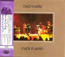 RARE DOUBLE CD IMPORT JAPON + OBI  DELUXE EDITION DEEP PURPLE / MADE IN JAPAN