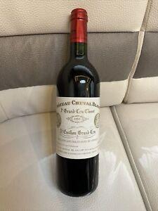 Rare Bouteille De Vin Rouge Château Cheval Blanc 1993