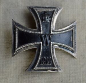 "Eisernes Kreuz 1.Klasse 1914 EK1 Silberstück ""800"" vor 1945 original"