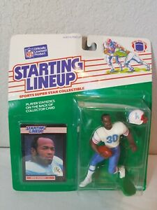1989 Kenner Starting Lineup Mike Rozier Houston Oilers Factory Sealed