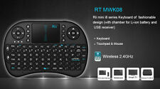 Wireless Mini Keyboard 2.4GHz i8  Air Mouse Touch pad  for PS3 Pad PC TV BOX