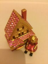 Estee lauder, Beautiful Victorian Dollhouse solid perfume compact