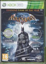 Xbox 360 BATMAN ARKHAM ASYLUM nuovo sigillato italiano pal 2009