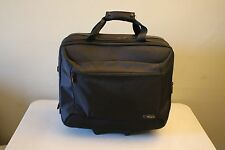 Targus Padded Laptop Rolling Pull Briefcase Bag On Wheels