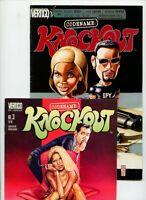 Codename Knockout #3 and #21 Vertigo Lot of 2 Comics