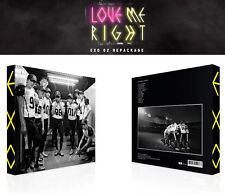 EXO [ LOVE ME RIGHT ] CHINESE VERSION- 2ND REPACKAGE ALBUM