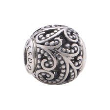 Essence of You Charm 925 Solid Sterling Silver FREEDOM Word Bead for Bracelet