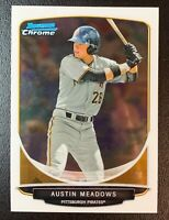 2013 Bowman Chrome Draft Mini AUSTIN MEADOWS Rookie 1st RC #40 Tampa Bay Rays