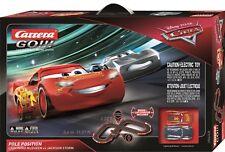 CARRERA 62435 DISNEY/PIXAR CARS 3 POLE POSITION NEW 1/43 GO SLOT CAR RACING SET