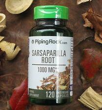 Sarsaparilla-Wurzel 120 Kapseln mit 1000mg (100mg Konzentrat)
