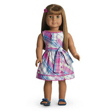 SALE! RETIRED TRULY ME PLAID PARTY DRESS OUTFIT! FITS AMERICAN GIRL DOLL BLAIRE!