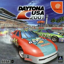 USED Daytona USA 2001 SEGA DREAMCAST  JAPAN JP JAPANESE