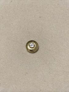 Wunderschöner Diamant Anhänger Gold 750 Solitario Nachlass Schmuck