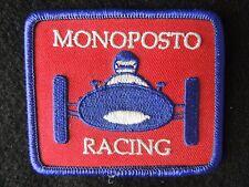 Monoposto Vintage Motorsport Racing Cloth Patch