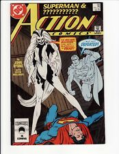 Action Comics #595 1st Appearance Silver Banshee HIGH GRADE DC Comics VF/NM