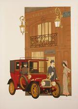 Original Vintage Poster - Noyer Denis-Paul - La Perouse - Paris - 1979