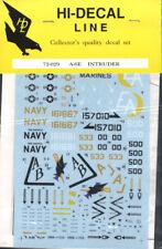 Hi-Decal Line 72-029, A-6E Intruder 1:72 Modellbau Abziehbilder
