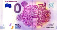 46 ROCAMADOUR Cité 2, Montgolfière, N° de la 2ème, 2018, Billet 0 € Souvenir