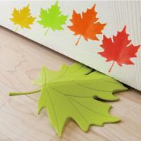 Mini Maple Leaf Door Stop Stopper Safe Protector Floor Room Home Decor AUS