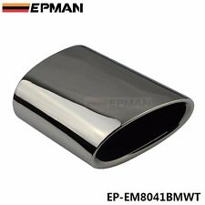 Chrome 304 Stainless Steel Exhaust Muffler Tip For BMW 11-13 X3.2.0 F25