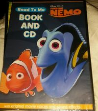 Disney Pixar Finding Nemo READ TO ME Book and CD new